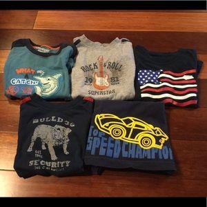 Other - 24M Short Sleeved Shirt Bundle - 5 Shirts